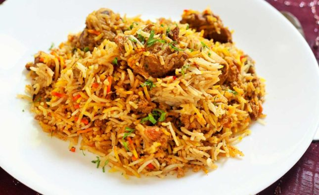 Mutton Biryani Recipe, Hyderabadi Mutton Biryani
