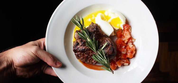 One of The Best Pan-Seared Strip Steak with hidden veg sauce